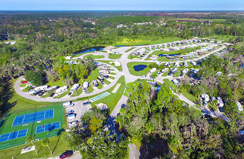 Seasons in the Sun RV Resort Aerial View